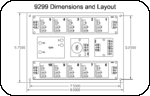9299 Dimensions & Layout